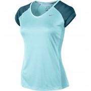 Футболка Nike MILER SS V-NECK TOP 519831-417