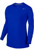 Джемпер разминочный Nike Womens LS Legend 453182-493