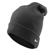 Шапочка Nike knitted oversize beanie 384137-010