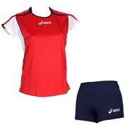 компл волейбольный  (майка+шорты) Asics SET ATTACK LADY T209Z1-2650