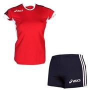 компл волейбольный  (майка+шорты) Asics SET AZZURRA T384Z1-2650