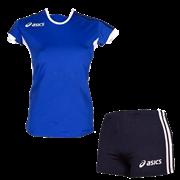 компл волейбольный  (майка+шорты) Asics SET AZZURRA T384Z1-4350