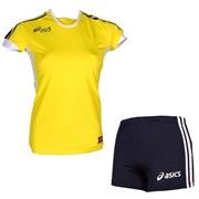 компл волейбольный  (майка+шорты) Asics SET AZZURRA T384Z1-QV50