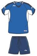 компл волейбольный  (майка+шорты) Asics SET NAZIONALE T385Z1-4350