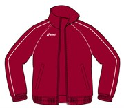 Куртка спортивного костюма Asics GUACCA TUTA MADRID T415Z1-00AS