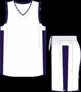 Комплект баскетбольный (майка+шорты) Ronix 607-0150