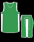 Комплект баскетбольный (майка+шорты) Ronix 607-8001