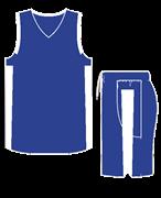 Комплект баскетбольный (майка+шорты) Ronix 607-4301