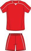 Комплект футбольный (майка+шорты) Ronix 211-2601