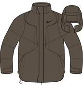 Куртка зимняя Nike Mens Down Jacket 215468-270